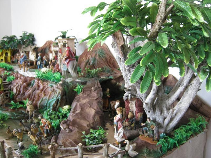 Santa Isabel 2 pesebre 2009. Belén de Wilson Rios (Cartagena)