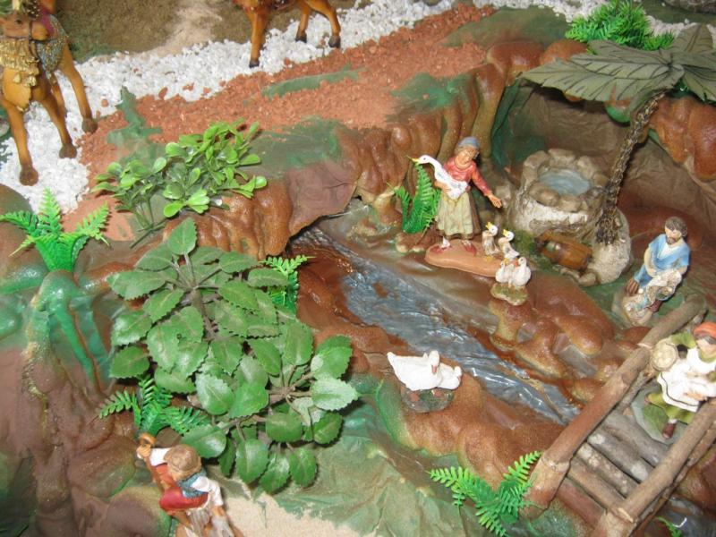 Vista superior rio 2 pesebre 2009. Belén de Wilson Rios (Cartagena)