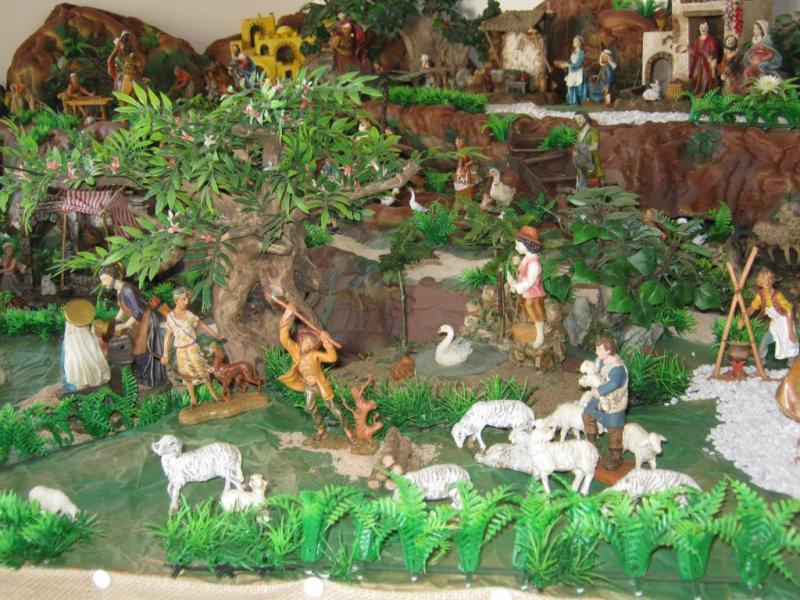 Pastoreando pesebre 2009. Belén de Wilson Rios (Cartagena)