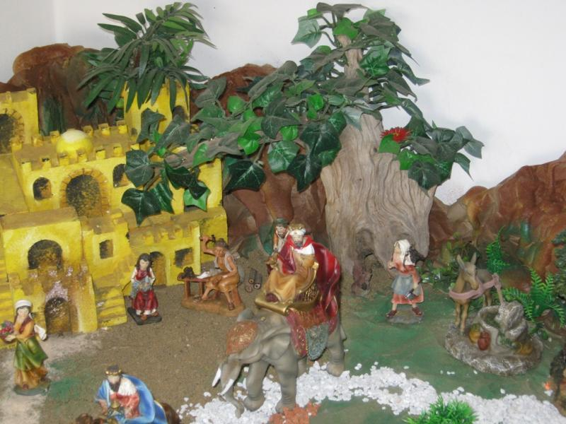 Jerusalen pesebre 2009. Belén de Wilson Rios (Cartagena)