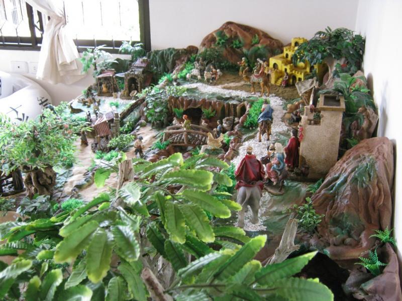 Camino a Jerusalen pesebre 2009. Belén de Wilson Rios (Cartagena)