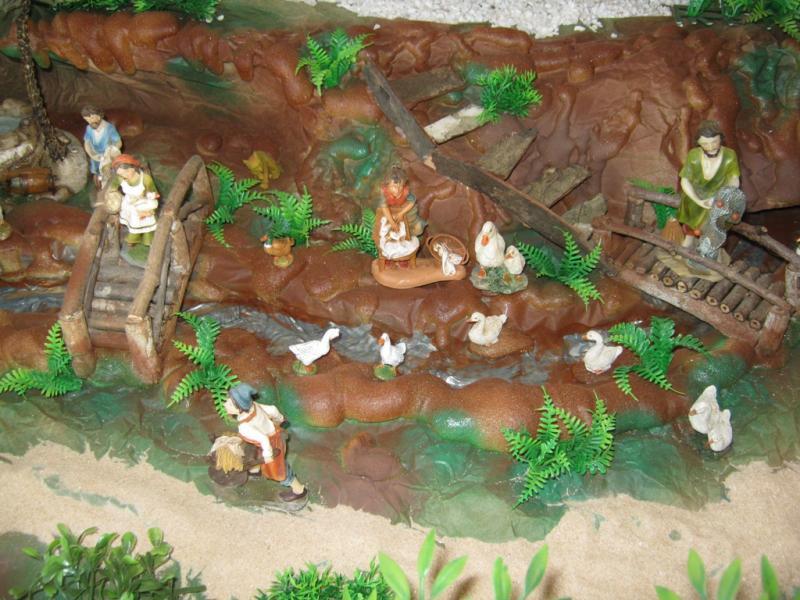 Vista superior rio pesebre 2009. Belén de Wilson Rios (Cartagena)