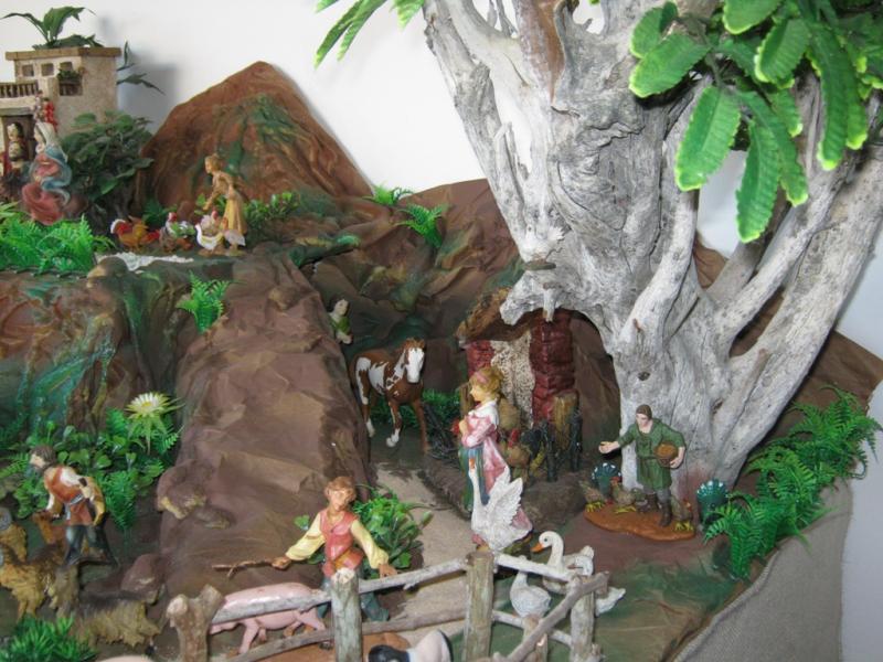 Arbol de la vida pesebre 2009. Belén de Wilson Rios (Cartagena)